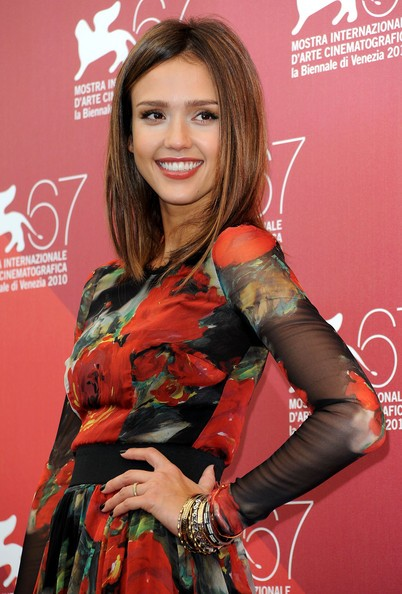 Jessica Alba: red carpet per Machete