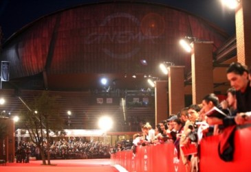 Una immagine del red carpet del Festival del Film di Roma