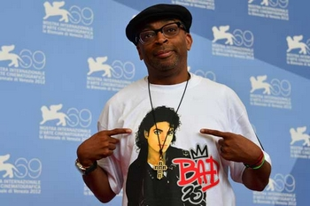Spike Lee al photocall della Mostra del Cinema di Venezia